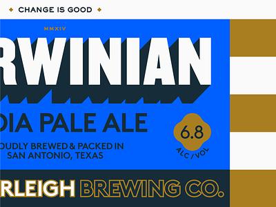 Change is Good texas san antonio packaging guerilla suit beer brand southerleigh