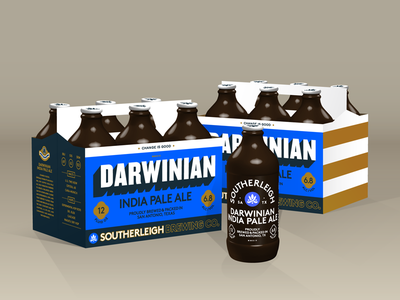 Darwinian IPA   Southerleigh Brewing Company texas san antonio packaging beer