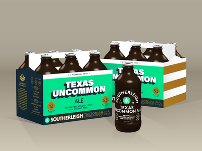 Texas Uncommon Ale   Southerleigh Brewing Company texas san antonio packaging beer