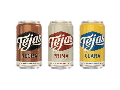 Tejas Packaging   Big Bend Brewing Co. tejas west texas packaging cans beer