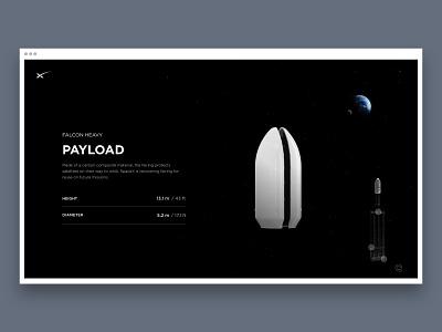 SpaceX - Interactive site desktop prototyping prototype animation prototype design interaction interactive interface invisionstudio uidesign uxdesign