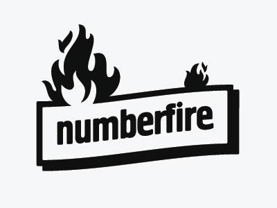 Numberfire™ /  Logo  fuentoovehuna logo logotype brand type fire