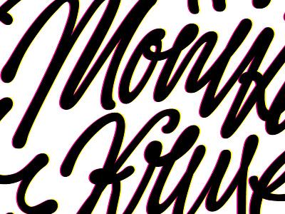 Monika Kruse | logo logo type