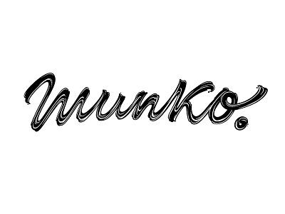 Munko™ / Logo logo branding brand custom type lettering fuentoovehuna type