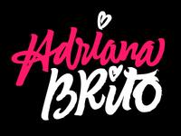 Adriana Brito / Logo