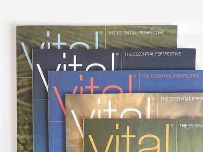 Quarterly Magazine Design & Layout cover design quarterly publication layout magazine