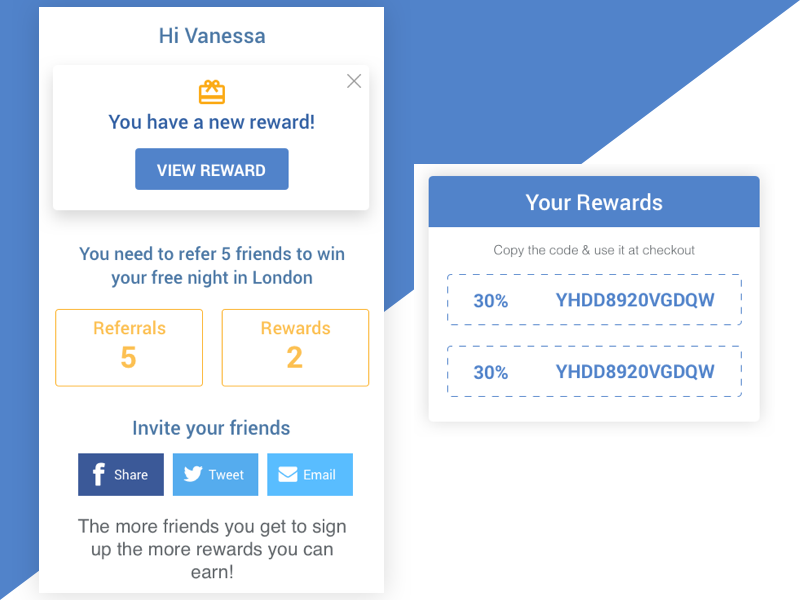 Reward Alert by Mark Reynolds on Dribbble