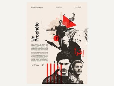 Un Prophète illustration design poster poster art