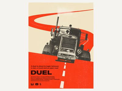 Poster Duel Red