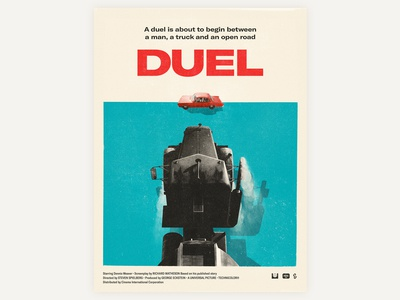 1971 Duel movie poster
