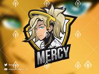 Mercy Mascot Esport Logo