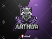 Arthur Mascot Esport Team Logo