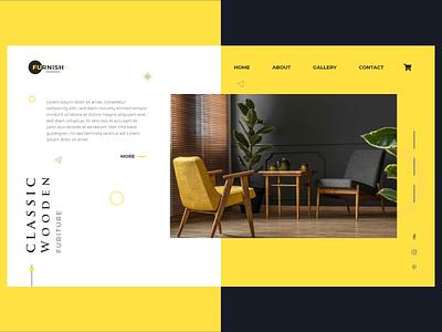 Furniture & Sofa Web 👏 home decore decore home figma xd uxdesign ux uiux uidesign ui design web design branding