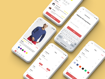 E-commerce Mobile product screen ✨🎉😍 ios app mobile e-commerce shopping shop illustration uxdesign ux uiux uidesign ui design web design
