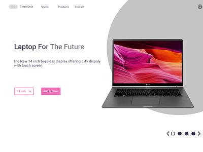 Laptop web UI ux web design uiux ui