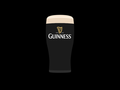 Cheers alcohol flat guiness