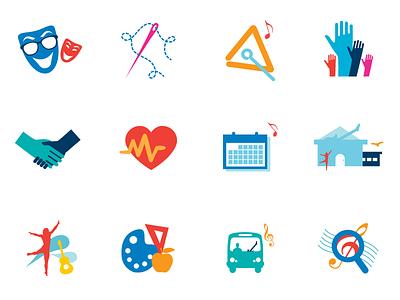 SongRoom Icons illustration icons school education