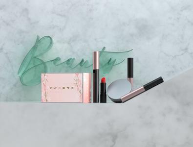 Beauty product set design