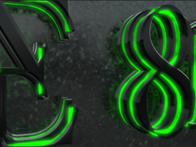 Suite 812 Logo corporate branding animated logo digital 3d artist branding logo after effects project 3d animation 3d