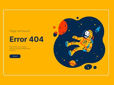 Error 404 page webdesign ux ui  ux design ui product design
