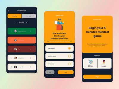 Dribbble design leaderboard mobile app design ui  ux ux ui design product design