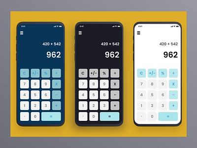Day 004 of 100 - Calculator design design ui product design daily 100 challenge dailyui