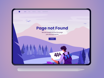 Day 008 of 100 daily ui challenge - Error page Design vector illustration daily 100 challenge ui  ux design ui product design dailyui