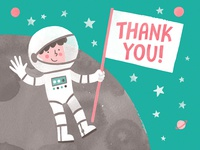 Thanks from Space