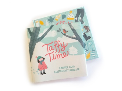 Taffy Time publication print picture book childrens books illustration