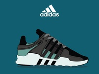Adidas Shoes İllüstration