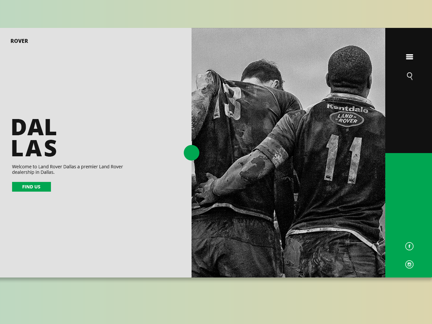 Rover web design