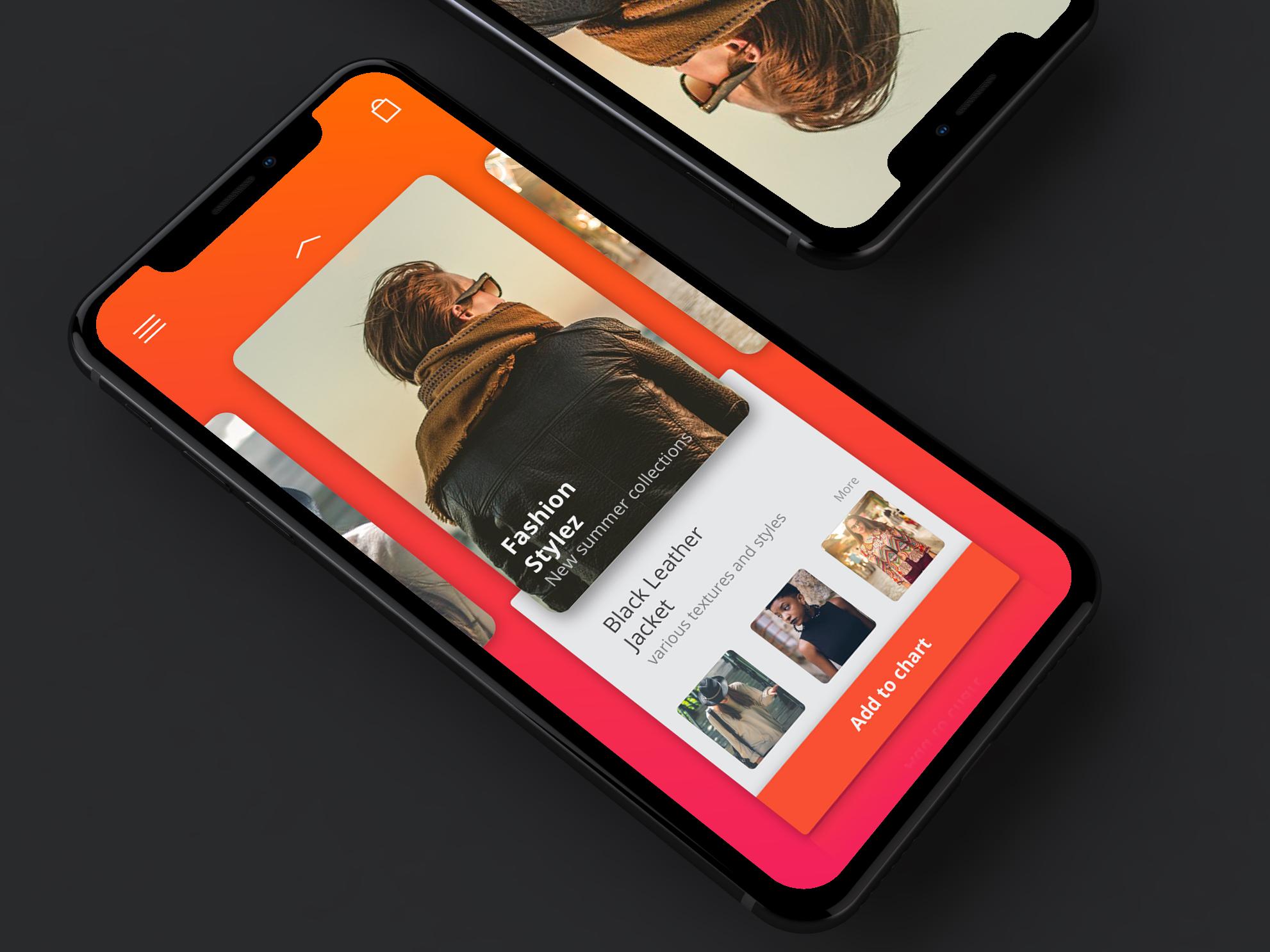 Fasion Apparel App Design