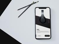 Headphone app design