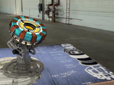 rc Reactor Render