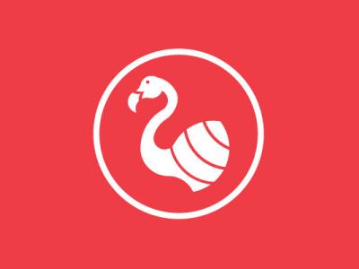 flamingo goldenratio ratio golden coral flamingo vector art vector logo design illustration