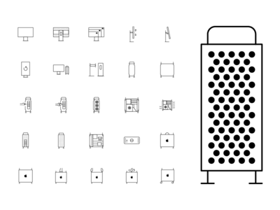 Mac Pro Icon Set