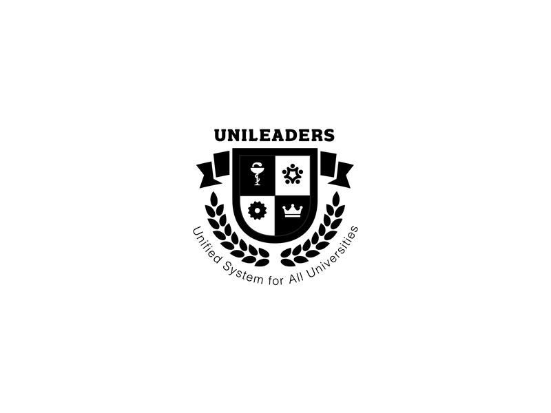 Logo Design for Unileaders yasser hassan system unity leadership pharmacist dribbble logo designs shield logo badge logo design vector illustration event logo event branding logo design concept logo designer logo design logo