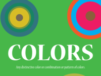 (Graphic Design Principles) (Colors) (2016)