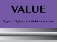 (Graphic Design Principles) (Value) (2016)