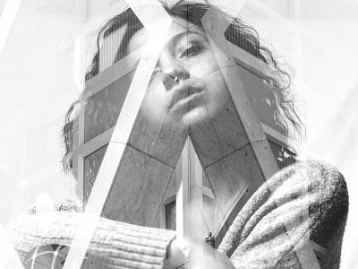 Abstract Double Exposure affinityphoto abstract edit digitalart photomanipulation