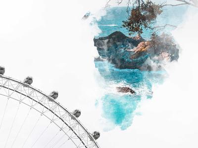 Ferris Smoke affinityphoto digitalart photomanipulation