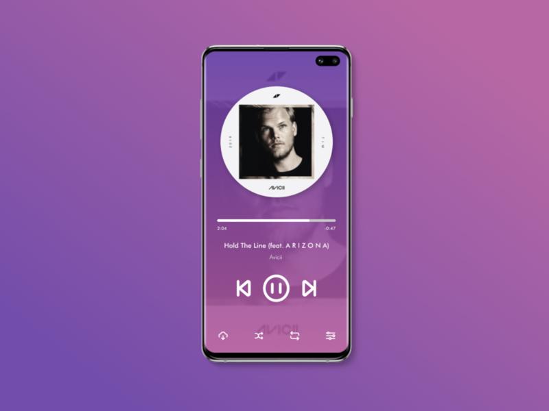 #DailyUI 009: Design a Music Player. uidesign musicplayer dailyui 009 dailyui