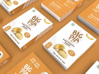 Packaging Bakpia Keju (Cheese)