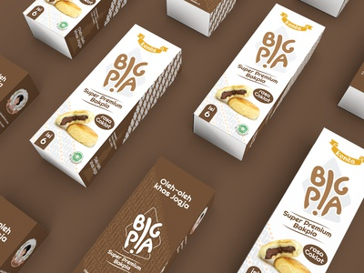 Box Packaging Bakpia Coklat