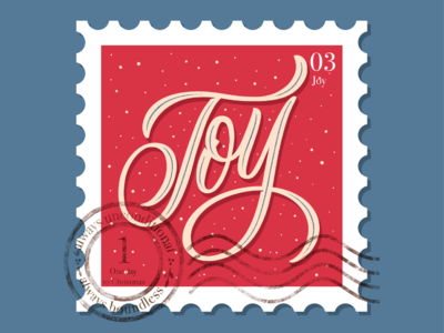 Countdown to Christmas - stamp 3