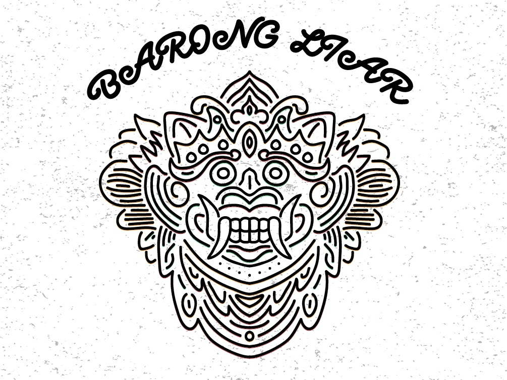 Barong vector graphic  design grapic design graphic graphic art illustration