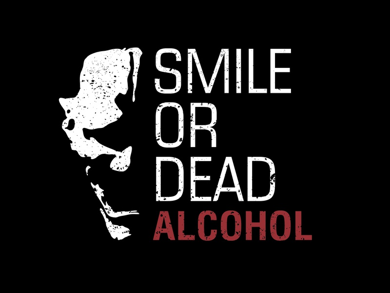 Alcohol skull art vector illustration graphic  design graphic art