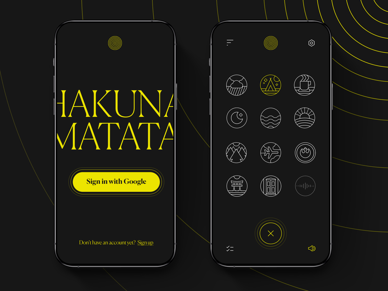 Mobile App Concept 🎯 mobile apps dark mode sound mobile ui user interface design sign up sign in mobile homepage mobile screens app mobile app trend mobile branding typography concept interface web ui