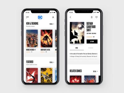 Comic Books Store Concept II