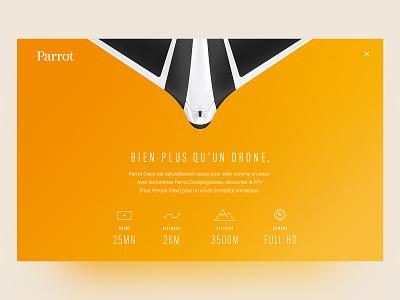 Product Page Exploration 🤖 ui ux design web identity exploration interface drones colors ux ui